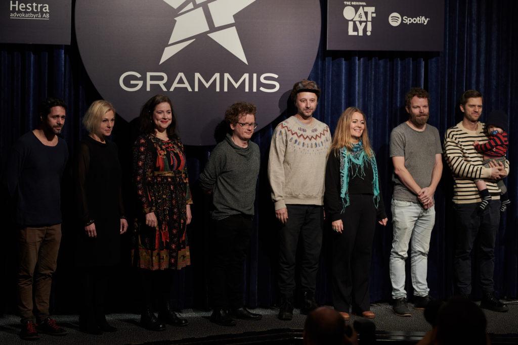 Inför Grammis 2018. Foto: Mathias Nordgren.