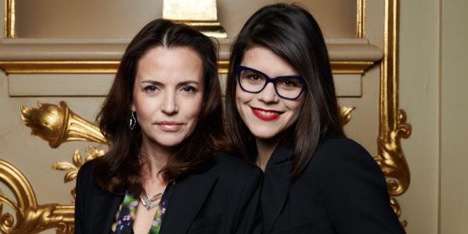 Grammisvärdar 2018: Amanda Ooms och Emma Molin. Foto: Mathias Nordgren.