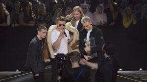 P3 Guld 2018 - Foto: Mattias Ahlm/Sveriges Radio