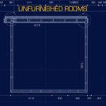 Omslag: Blancmange, Unfurnished Rooms