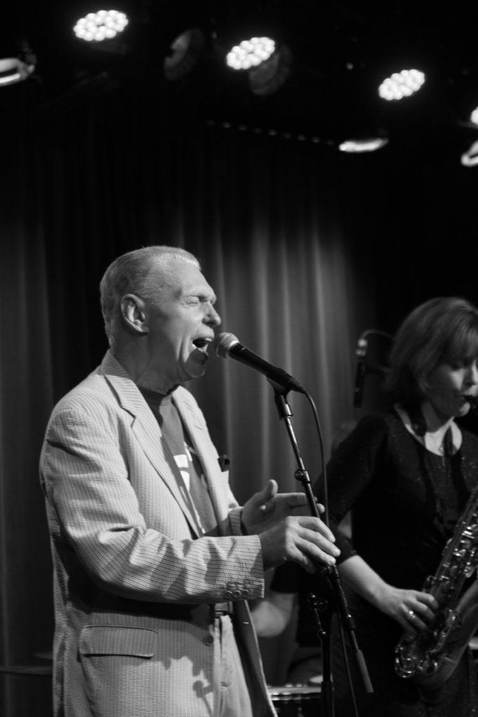Georgie Fame live på Fasching den 30 januari 2018. Foto: Ernst Adamsson Borg.