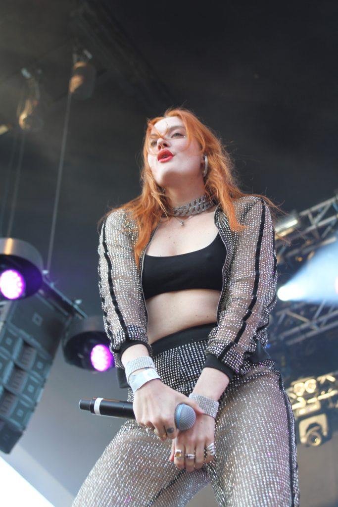 Icona Pop på Gröna Lund den 23 maj 2018. Foto: Ernst Adamsson Borg.