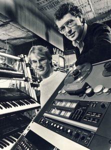 Tomas Adolphson och Anders Falk