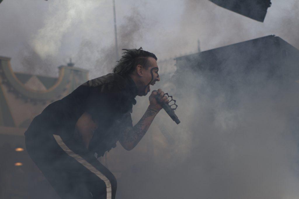 Marilyn Manson live på Gröna Lund den 6 juni 2018. Foto: Ernst Adamsson Borg.