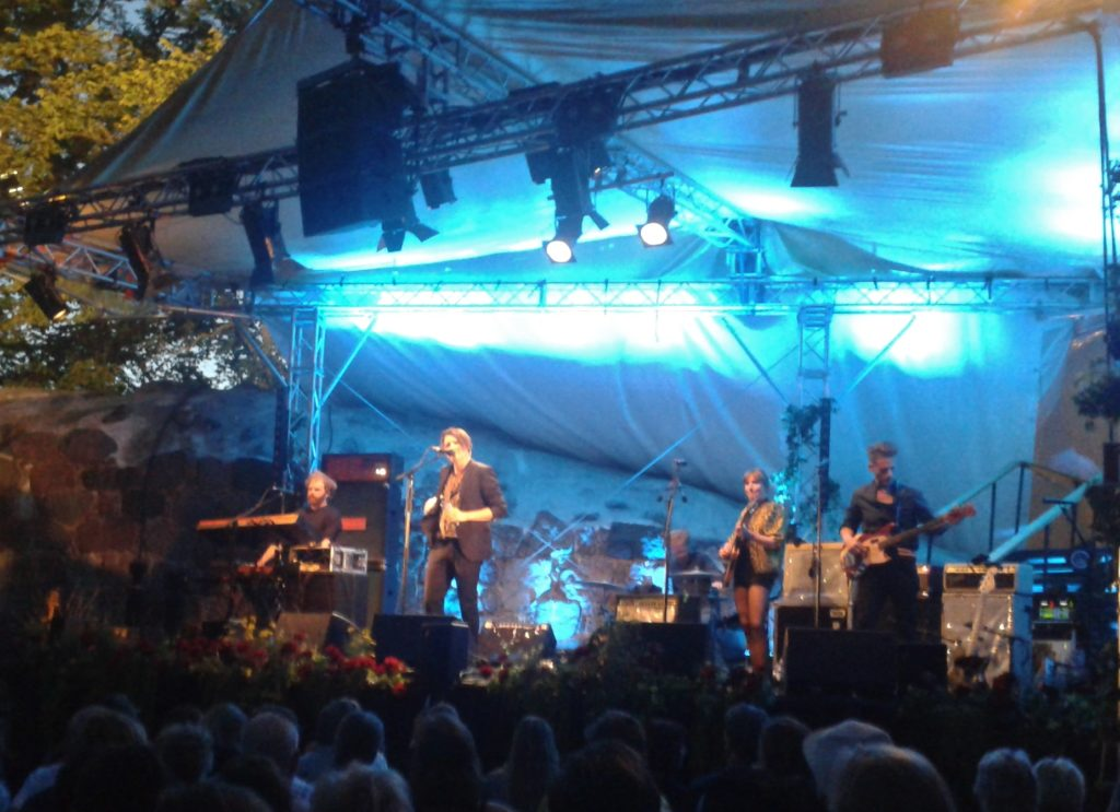 Markus Krunegård på Västerviks visfestival 2018. Foto: Tobias Pettersson.