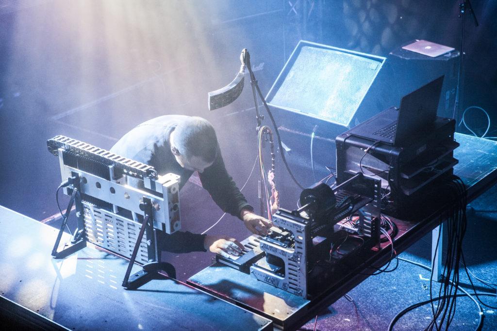Author & Punisher live på Sticky Fingers i Göteborg den 20 oktober 2018. Foto: Anna Hulth.