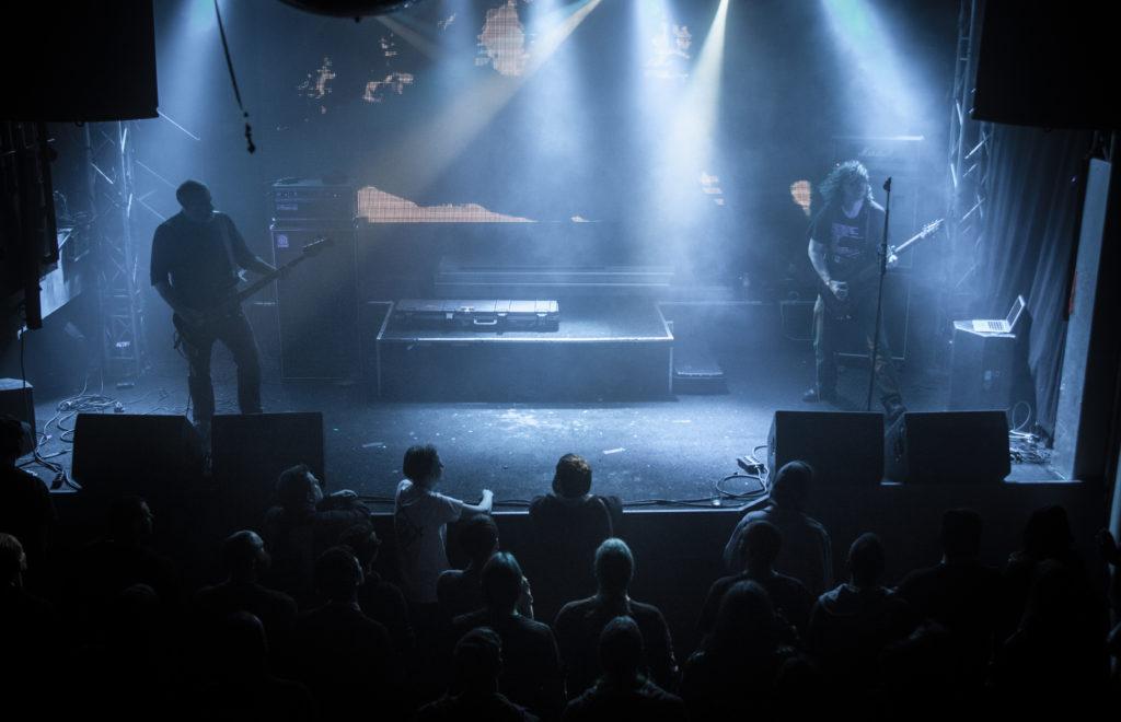 Godflesh live på Sticky Fingers i Göteborg den 20 oktober 2018. Foto: Anna Hulth.