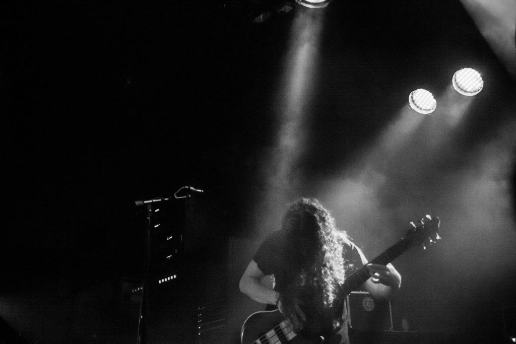 Bell Witch live på Musikens Hus i Göteborg den 11 december 2018. Foto: Anna Hulth.