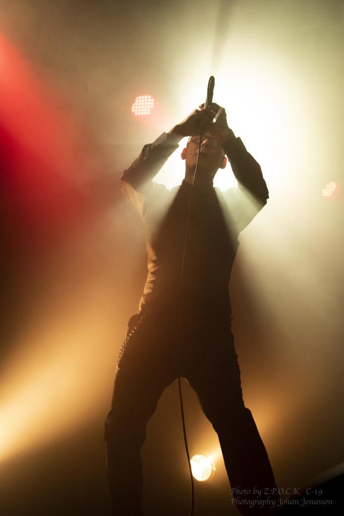 Covenant live på We All Feel Better in the Dark på Musikens Hus i Göteborg 2019. Foto: Johan Jonasson.