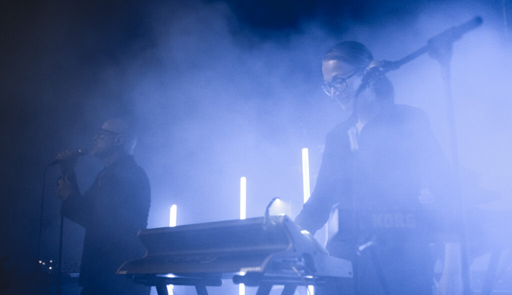Eddie Bengtsson och Marina Schiptjenko, Page live i Malmö 28 september 2019